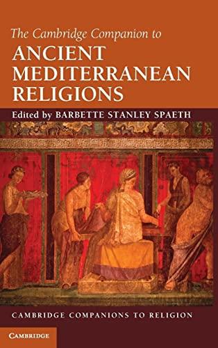 9780521113960: The Cambridge Companion to Ancient Mediterranean Religions (Cambridge Companions to Religion)