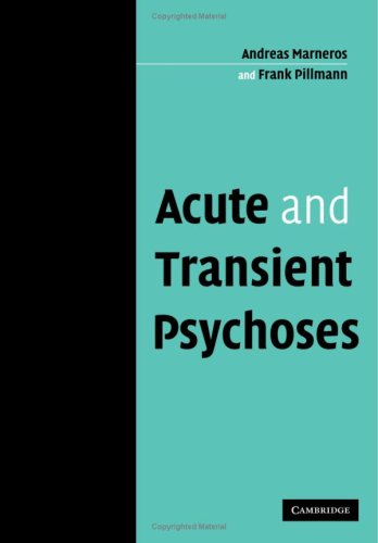 9780521114066: Acute and Transient Psychoses