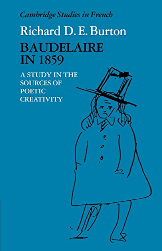 9780521114141: Baudelaire in 1859: A Study in the Sources of Poetic Creativity