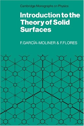 9780521114356: Introduction to the Theory of Solid Surfaces (Cambridge Monographs on Physics)