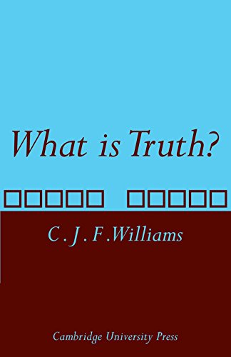9780521114752: What is Truth?