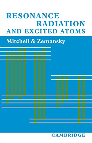 Resonance Radiation and Excited Atoms (Paperback): Allan. C. G.
