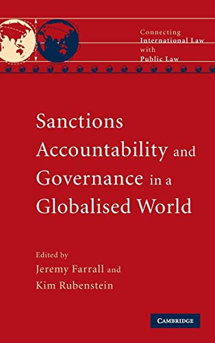 9780521114929: Sanctions, Accountability and Governance in a Globalised World (Connecting International Law with Public Law)