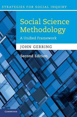 9780521115049: Social Science Methodology: A Unified Framework (Strategies for Social Inquiry)