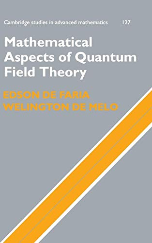 9780521115773: Mathematical Aspects of Quantum Field Theory (Cambridge Studies in Advanced Mathematics)