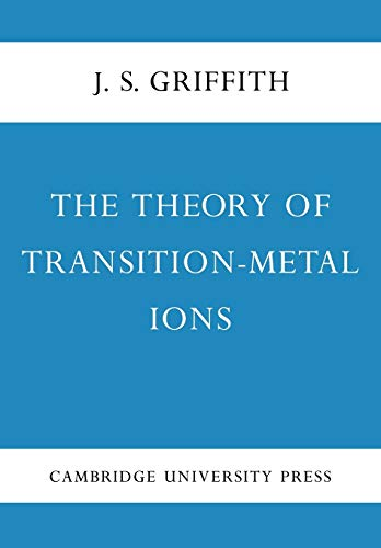 9780521115995: The Theory of Transition-Metal Ions