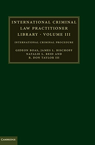 9780521116305: International Criminal Law Practitioner Library: International Criminal Procedure (The International Criminal Law Practitioner) (Volume 3)