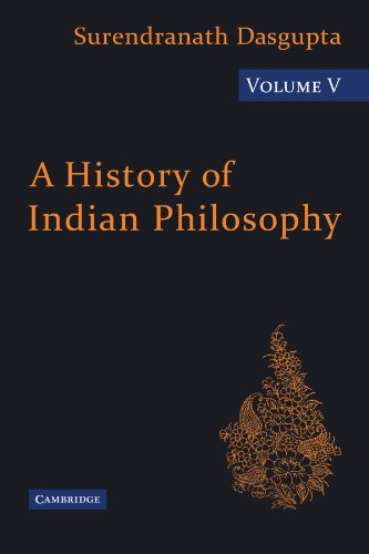 9780521116435: 5: A History of Indian Philosophy (A History of Indian Philosophy 5 Volume Paperback Set)