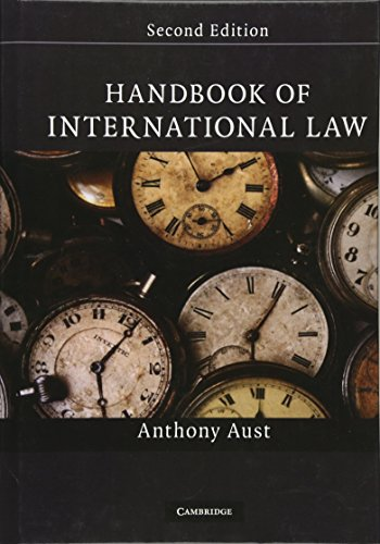 9780521117050: Handbook of International Law
