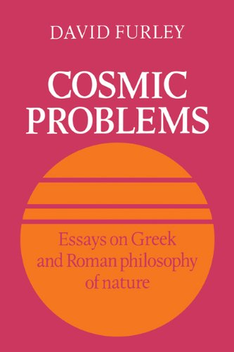 9780521117128: Cosmic Problems: Essays on Greek and Roman Philosophy of Nature