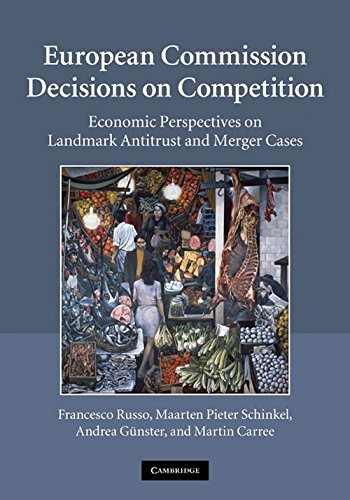 9780521117197: European Commission Decisions on Competition: Economic Perspectives on Landmark Antitrust and Merger Cases