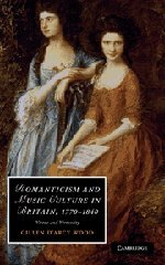 9780521117333: Romanticism and Music Culture in Britain, 1770-1840: Virtue and Virtuosity