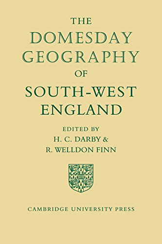 9780521118033: The Domesday Geography of South-West England (Domesday Geography of England)