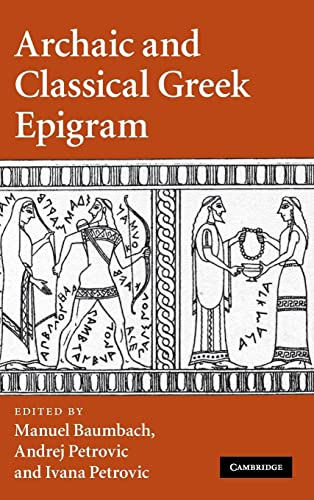 9780521118057: Archaic and Classical Greek Epigram