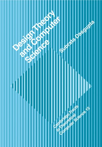 9780521118156: Design Theory and Computer Science Paperback (Cambridge Tracts in Theoretical Computer Science)