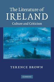 9780521118231: The Literature of Ireland: Culture and Criticism
