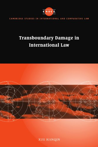 9780521118309: Transboundary Damage in International Law (Cambridge Studies in International and Comparative Law)