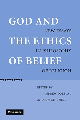 9780521118415: God and the Ethics of Belief: New Essays in Philosophy of Religion