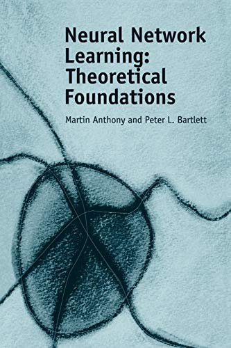 9780521118620: Neural Network Learning: Theoretical Foundations