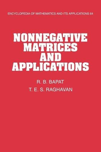 9780521118668: Nonnegative Matrices and Applications (Encyclopedia of Mathematics and its Applications)