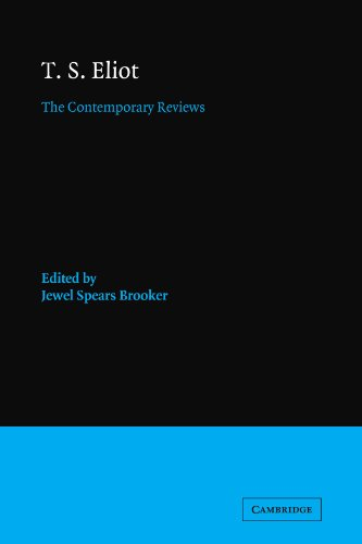 9780521118989: T. S. Eliot: The Contemporary Reviews (American Critical Archives)
