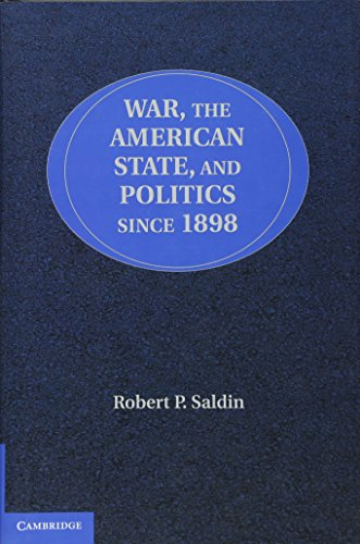 9780521119153: War, the American State, and Politics since 1898