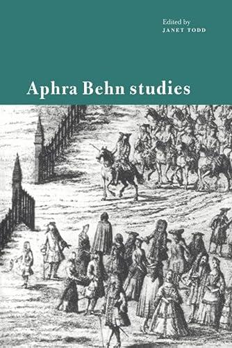 9780521119641: Aphra Behn Studies Paperback