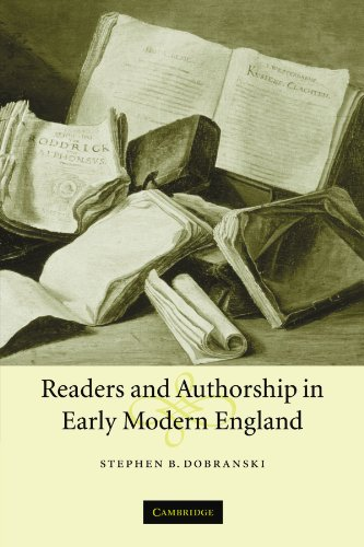 9780521120180: Readers and Authorship in Early Modern England