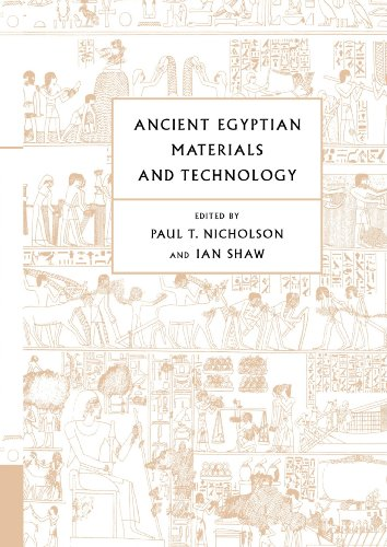 9780521120982: Ancient Egyptian Materials and Technology Paperback