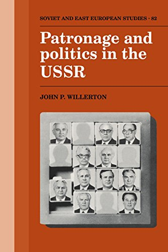 9780521121330: Patronage and Politics in the USSR (Cambridge Russian, Soviet and Post-Soviet Studies)