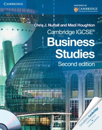 9780521122108: Cambridge IGCSE Business Studies Coursebook with CD-ROM (Cambridge International IGCSE)