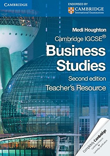 Cambridge IGCSE Business Studies Teacher's Resource CD-ROM (Cambridge International ...
