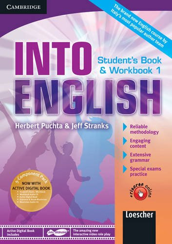 9780521122139: Into english. Student's book-Workbook-Maximiser. Per le Scuole superiori. Con CD Audio. Con DVD-ROM. Con espansione online: Into English Level 1 ... Maximiser w/ AudCD Ital Ed [Lingua inglese]