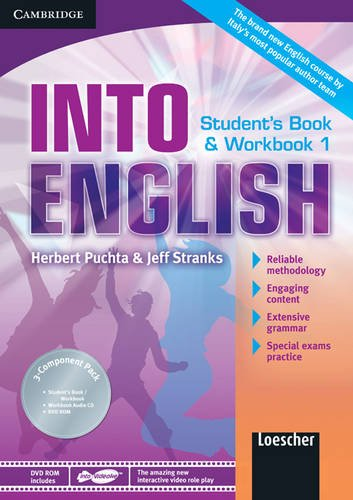9780521122191: Into English Level 1 Student's Book and Workbook with Audio CD and DVD-ROM Italian Edition: Level 1