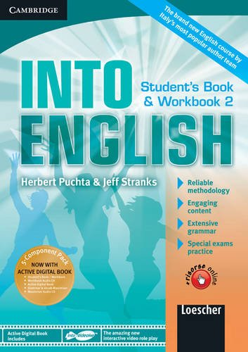 9780521122290: Into English Level 2 Student's Book and Workbook with Active Digital Book W/ Grammar and Vocab Maximiser W/ AudCD Ital Ed: Level 2