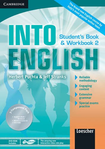 9780521122344: Into English Level 2 Student's Book and Workbook with Audio CD and DVD-ROM Italian Edition: Level 2