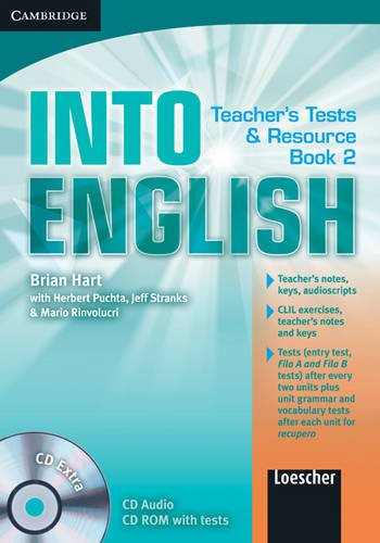9780521122382: Into English Level 2 Teacher's Test and Resource Book with CD Extra Italian Edition