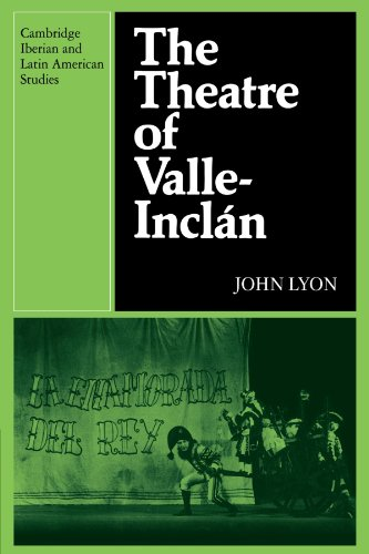 9780521122474: The Theatre of Valle-Inclan