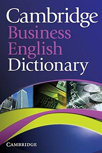 9780521122504: Cambridge Business English Dictionary