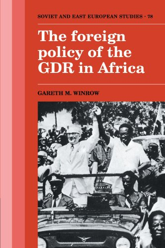 9780521122597: The Foreign Policy of the GDR in Africa