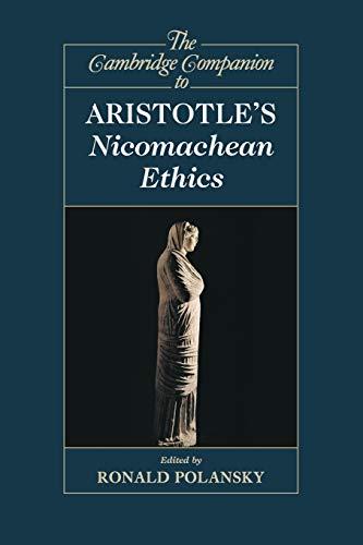 9780521122733: The Cambridge Companion to Aristotle's Nicomachean Ethics (Cambridge Companions to Philosophy)