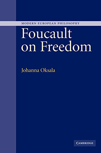 9780521122948: Foucault on Freedom (Modern European Philosophy)