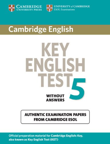9780521123051: Cambridge Key English Test 5 Student's Book without answers: Official Examination Papers from University of Cambridge ESOL Examinations (KET Practice Tests)