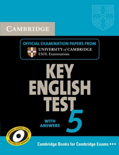 Cambridge Key English Test 5 Student's Book: ESOL, Cambridge