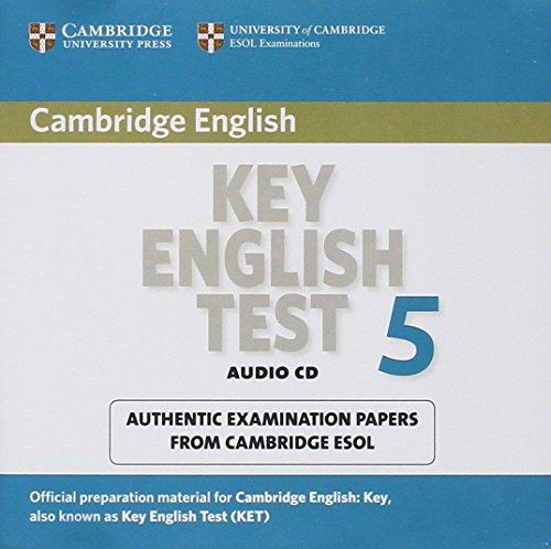 9780521123105: Cambridge Key English Test 5 Audio CD: Official Examination Papers from University of Cambridge ESOL Examinations (KET Practice Tests)