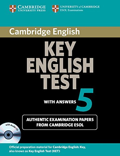 9780521123136: Cambridge Key English Test 5 Self Study Pack (Student's Book with answers and Audio CD): Official Examination Papers from University of Cambridge ESOL Examinations (KET Practice Tests)