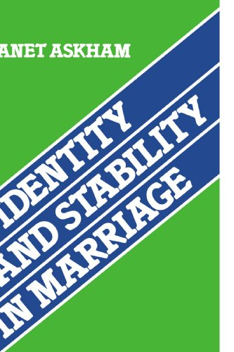9780521124041: Identity and Stability in Marriage