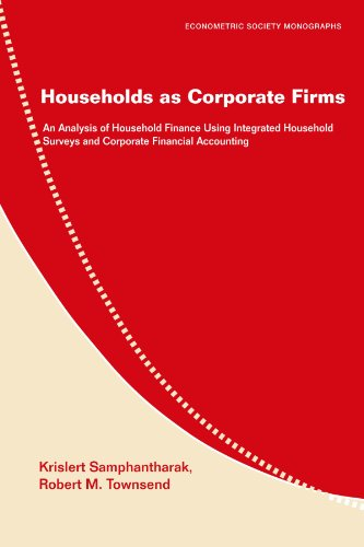 Households as Corporate Firms: An Analysis of: Krislert Samphantharak and