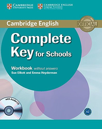 9780521124362: Complete Key for Schools Workbook without Answers with Audio CD