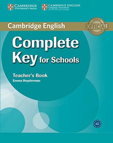 9780521124744: Complete Key for Schools Teacher's Book